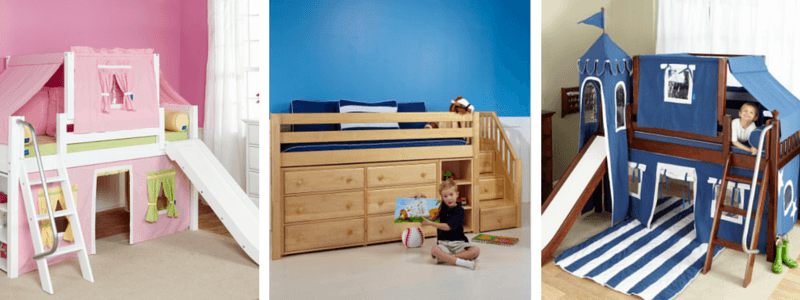 Low Lofts: The Cornerstone of Your Kids Bedroom Furniture