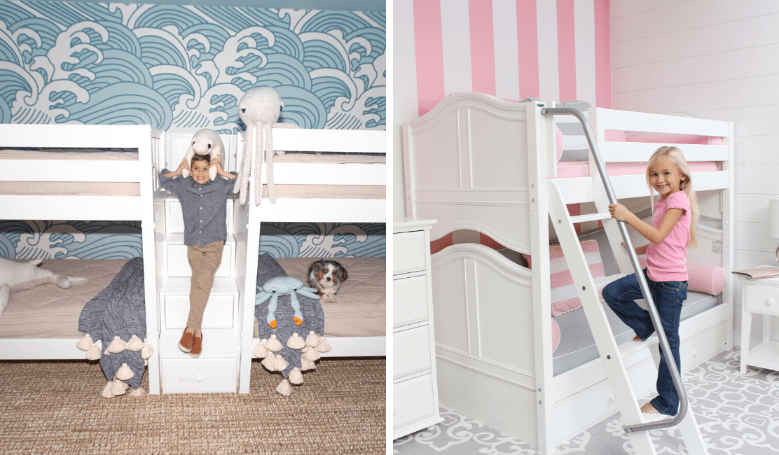 The Pro's and Con's of Staircases and Ladders for Bunk and Loft Beds