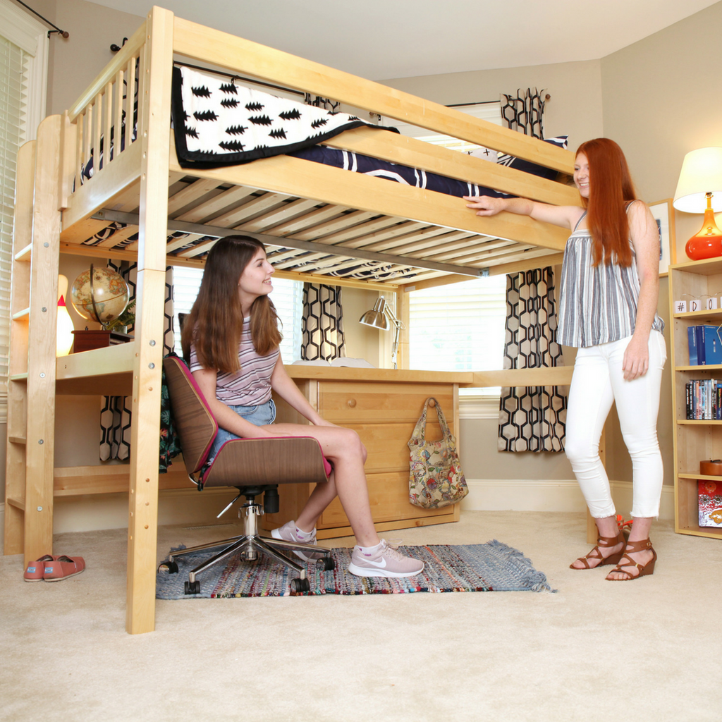 twin XL loft bed