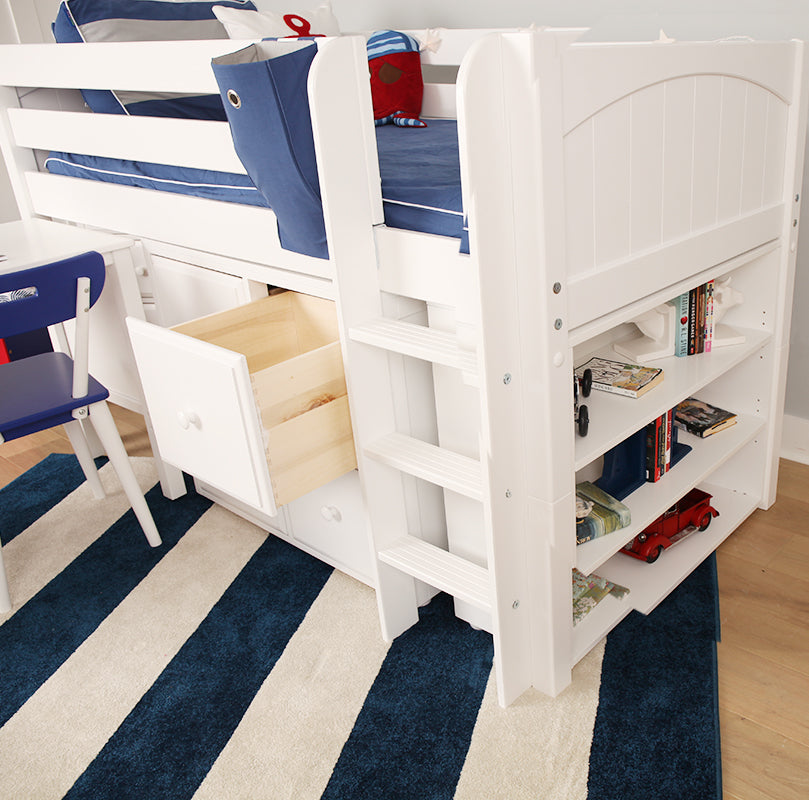cube drawers for loft bed