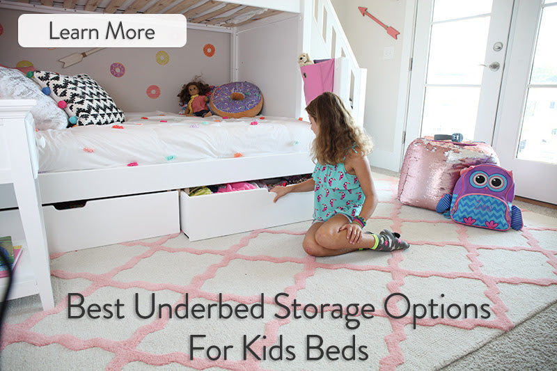 UnderBed Storage for Kids Beds
