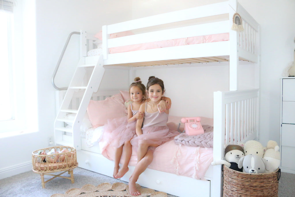 Genesis & Daisy from GunnsGirls twin over full bunk bed room