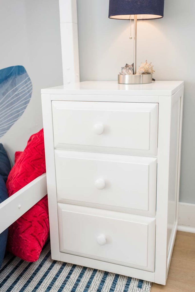 three drawer night stand for tween room