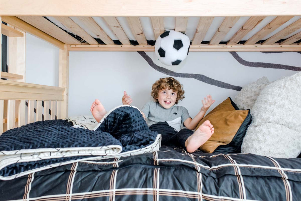 under bunk bed twin over full