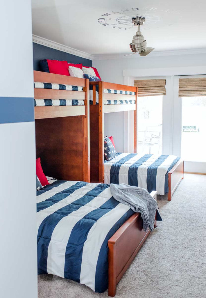 quadruple bunk beds for vacation homes