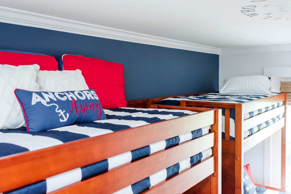 headroom above twin over full quad bunk beds