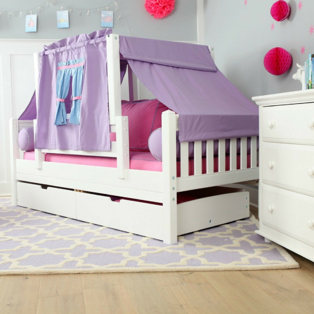 toddler bed with top tent