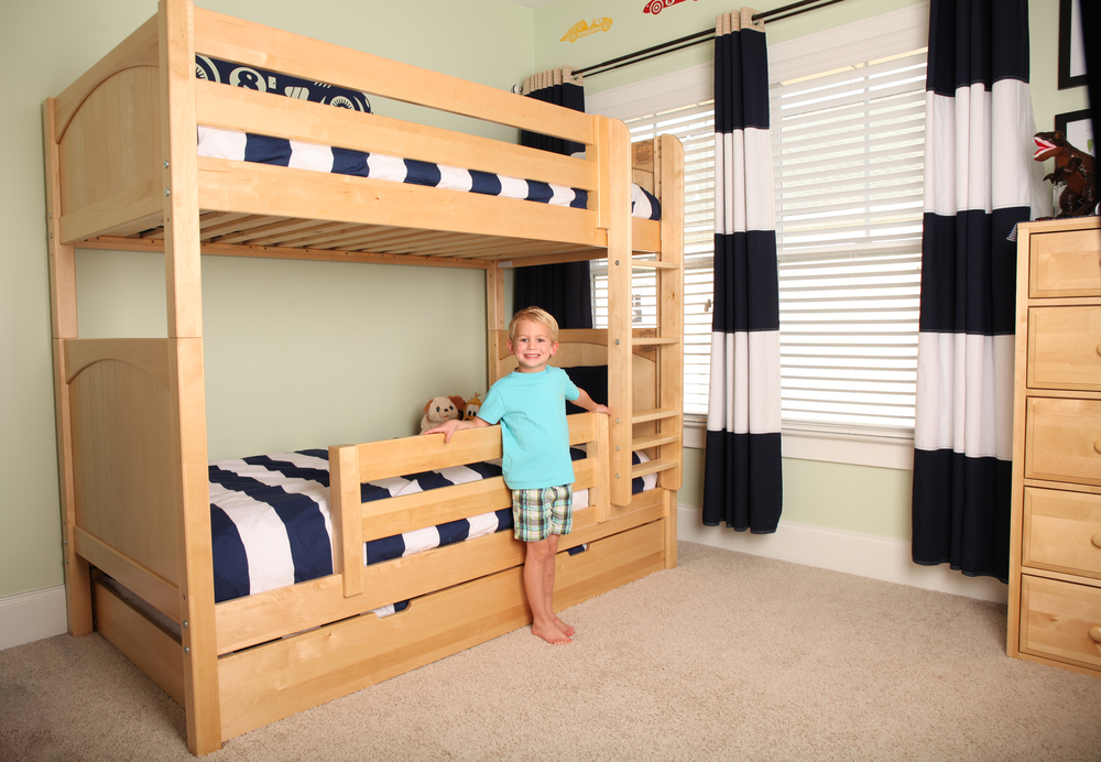 bunk bed for tall ceiling