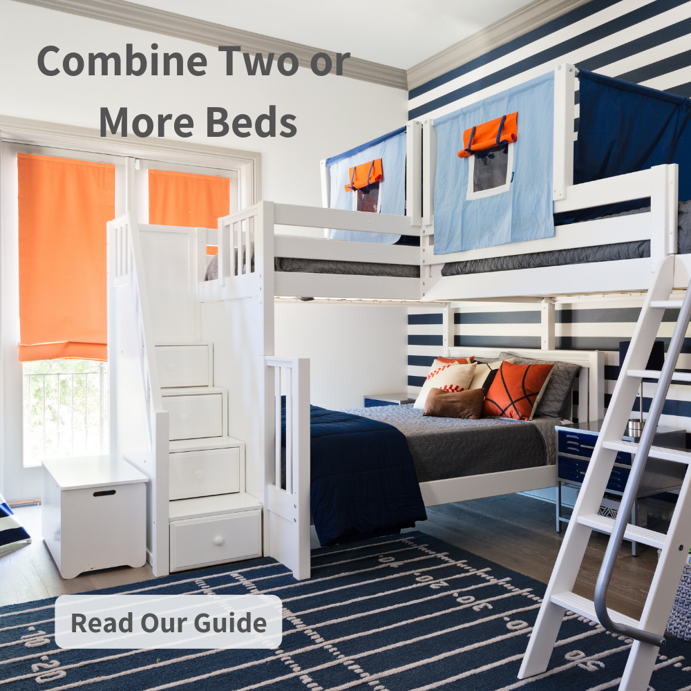 Triple Corner Beds for Kids