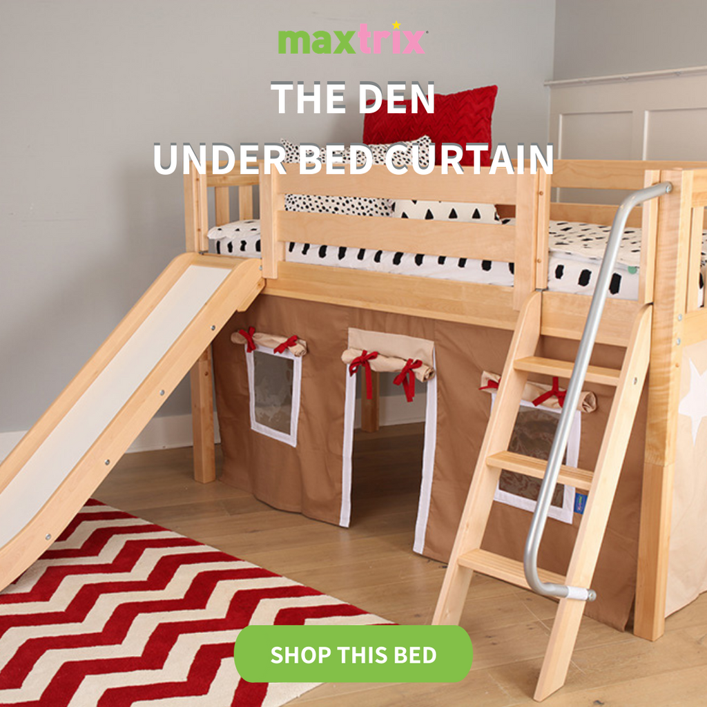 play low loft with slide