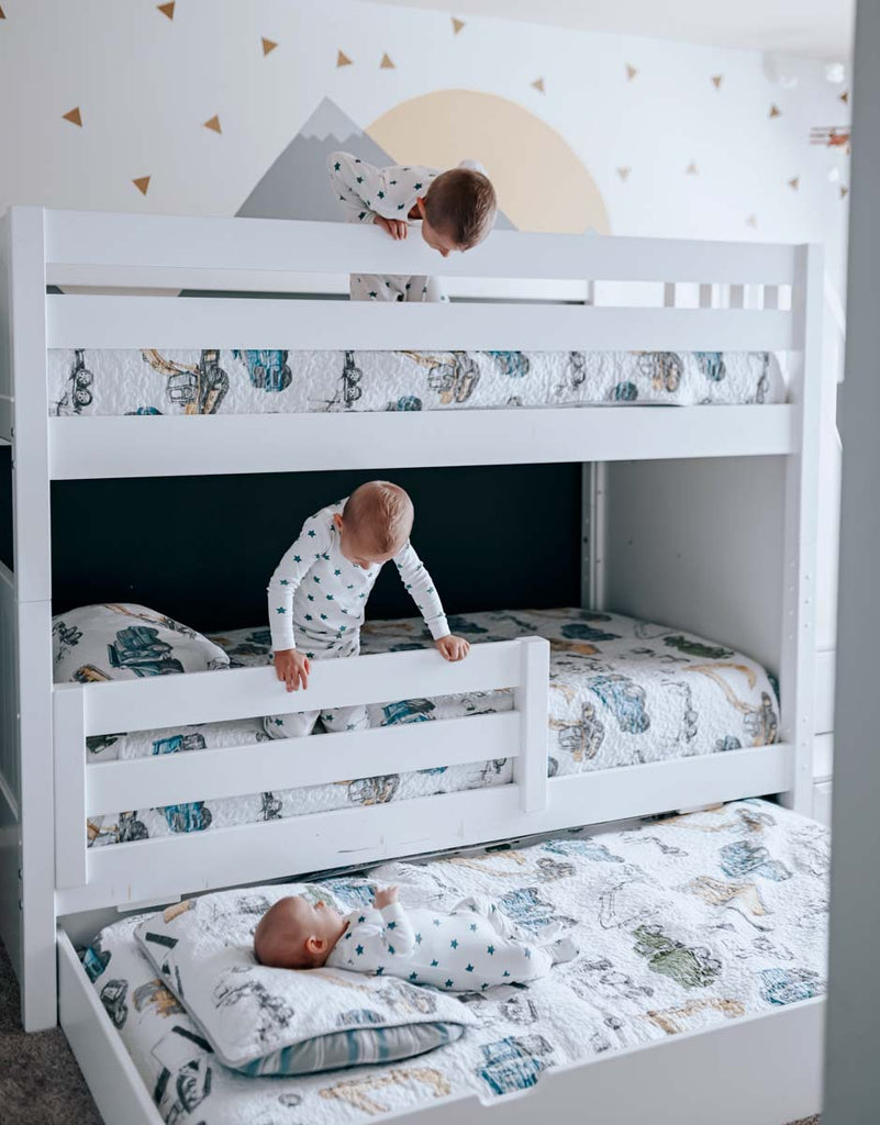 trundle for twin bunk beds with stairs