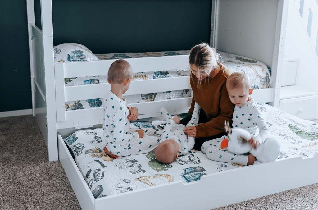 trundle bed for bunk bed with stairs