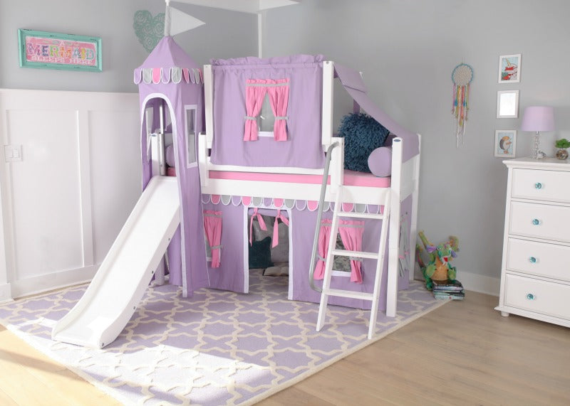 play castle bed