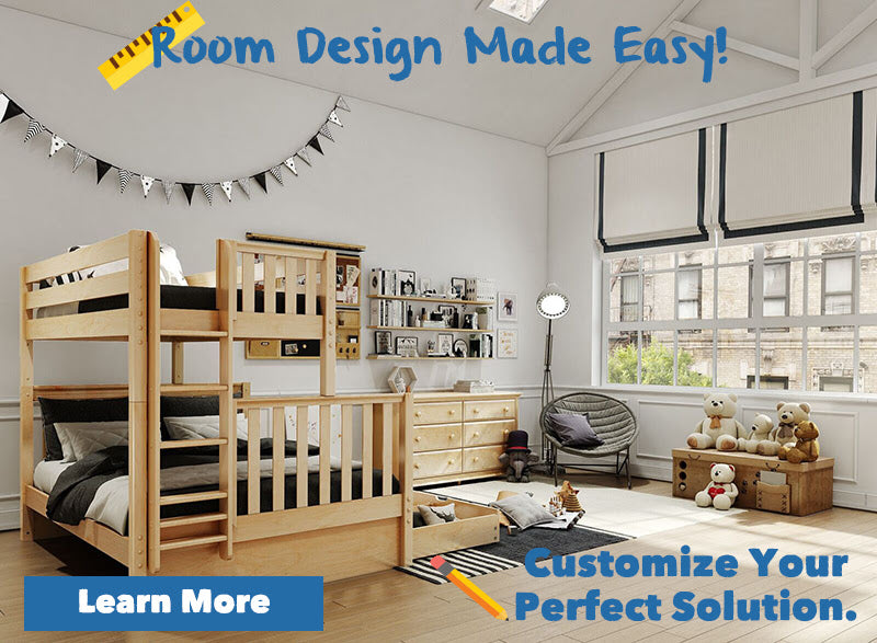 custom kids beds quad bunks