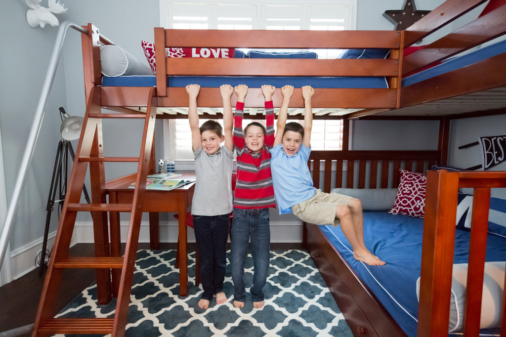 sturdy bunk beds for kids and adults
