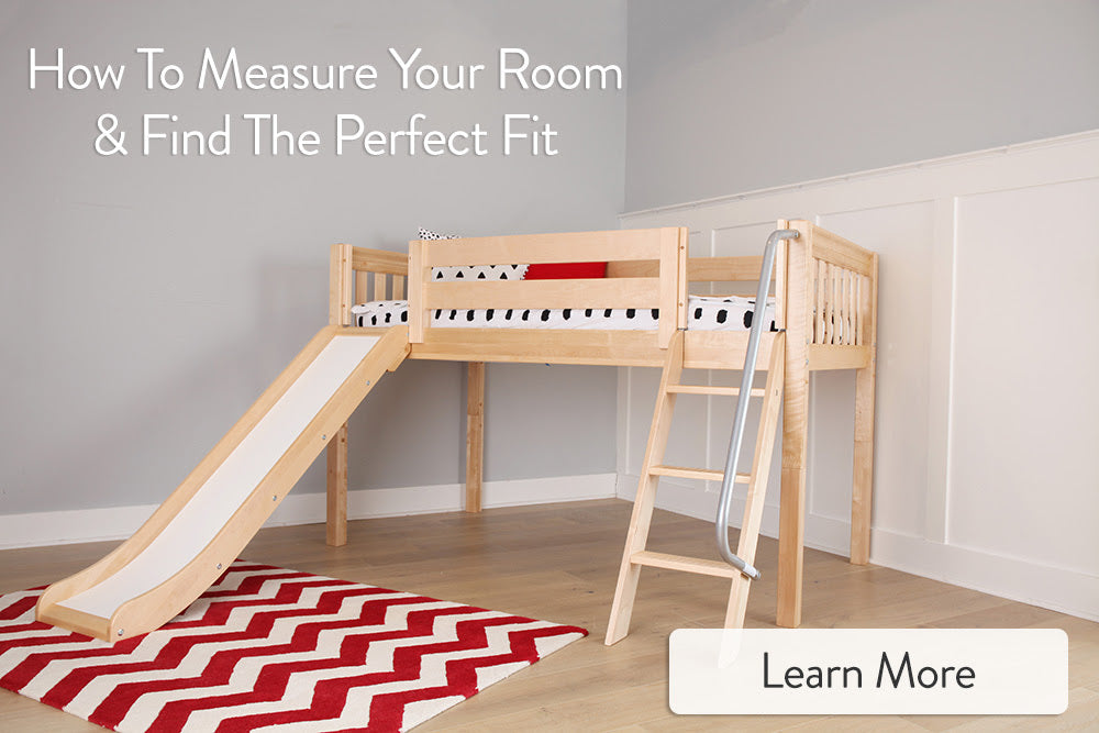 how to measure your kids room for a new bed