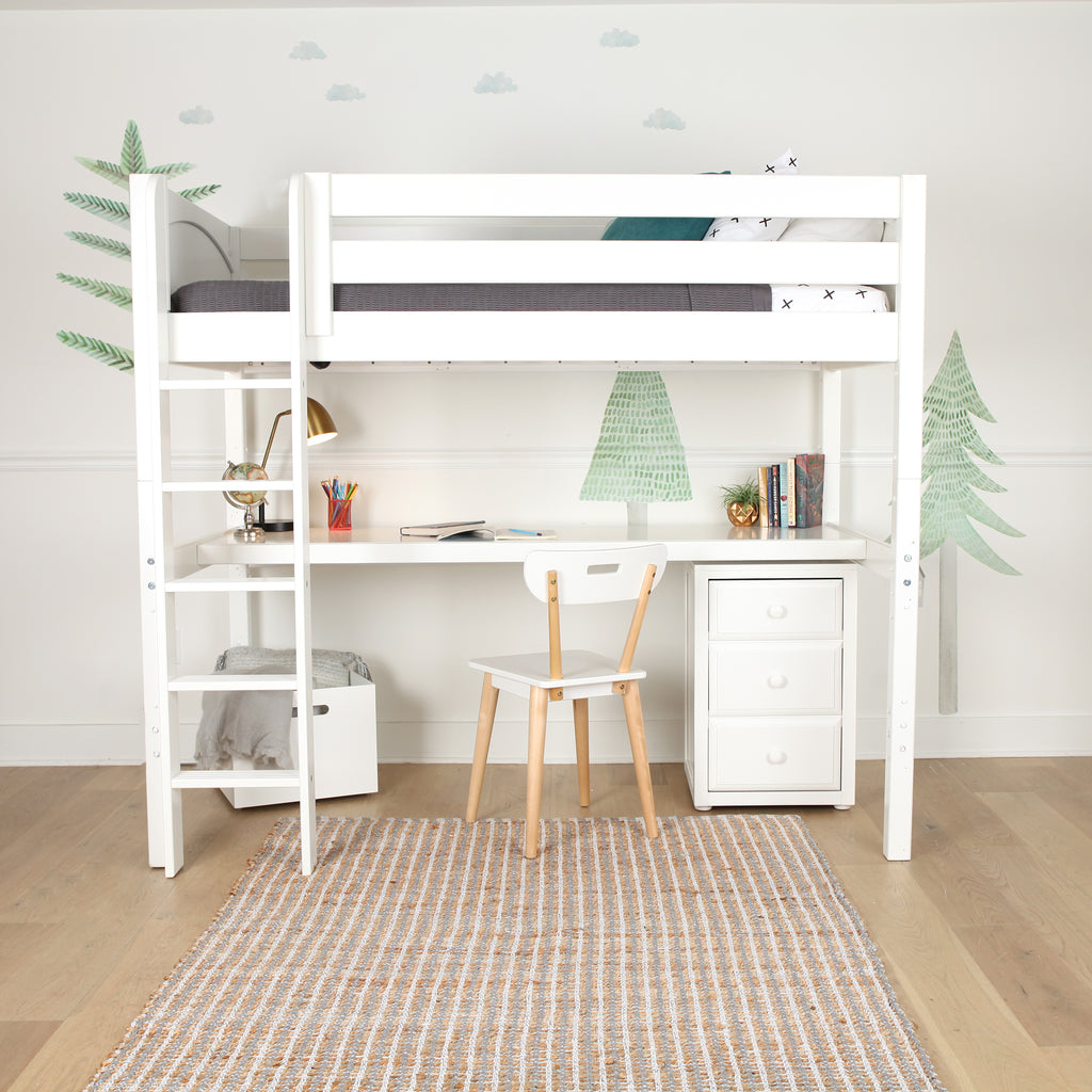 best high loft bed with desk