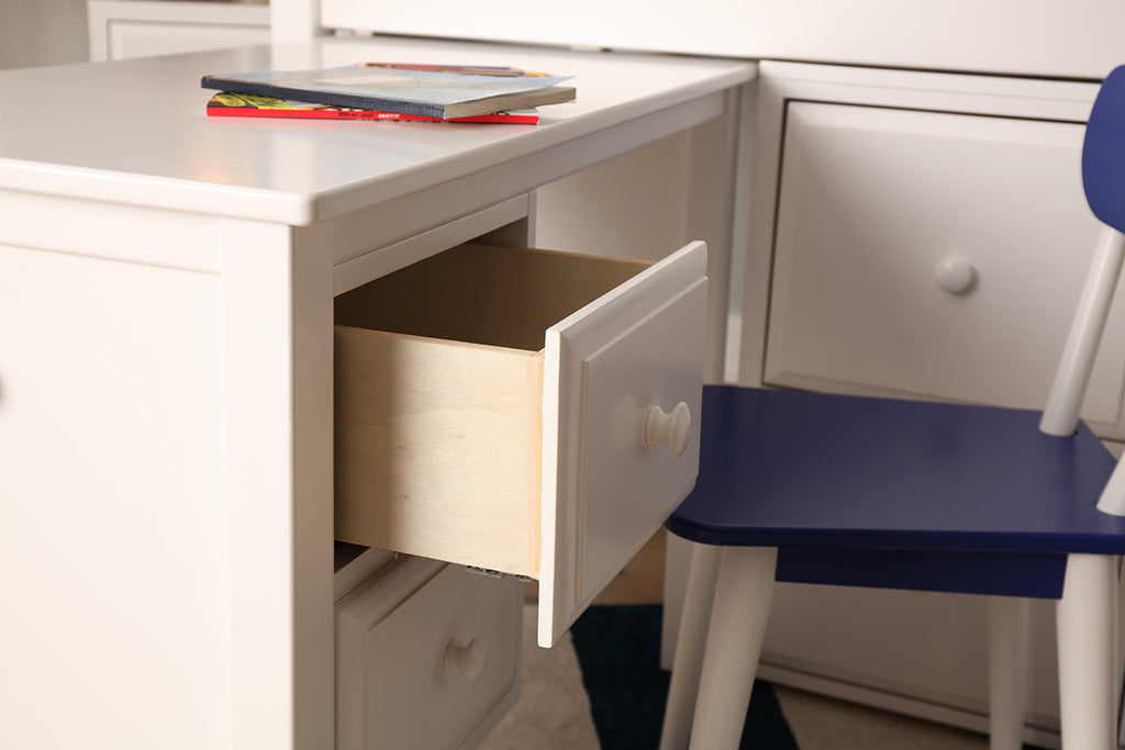 sturdy deep storage drawers for loft bed