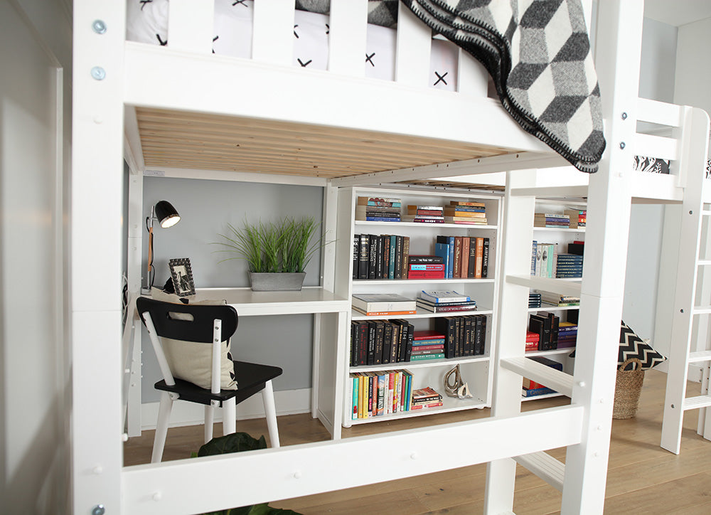 corner desk for study loft beds