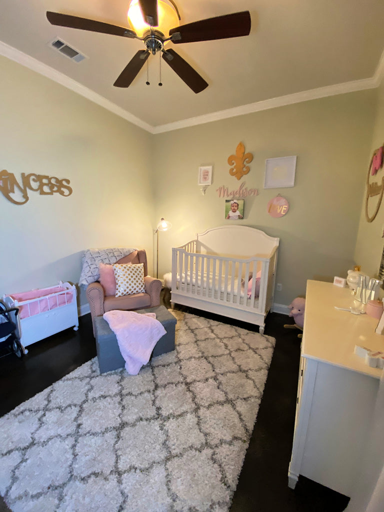 little girl nursery