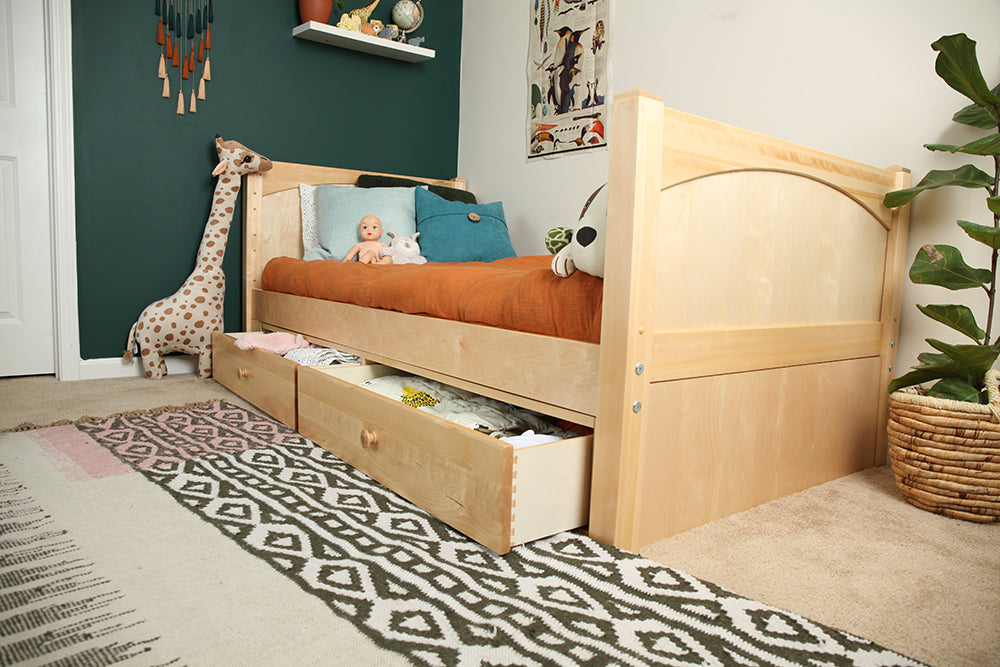 under bed storage for twin xl beds