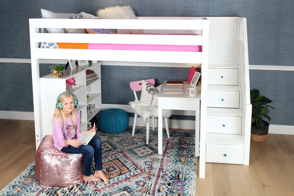 Full XL Loft Bed