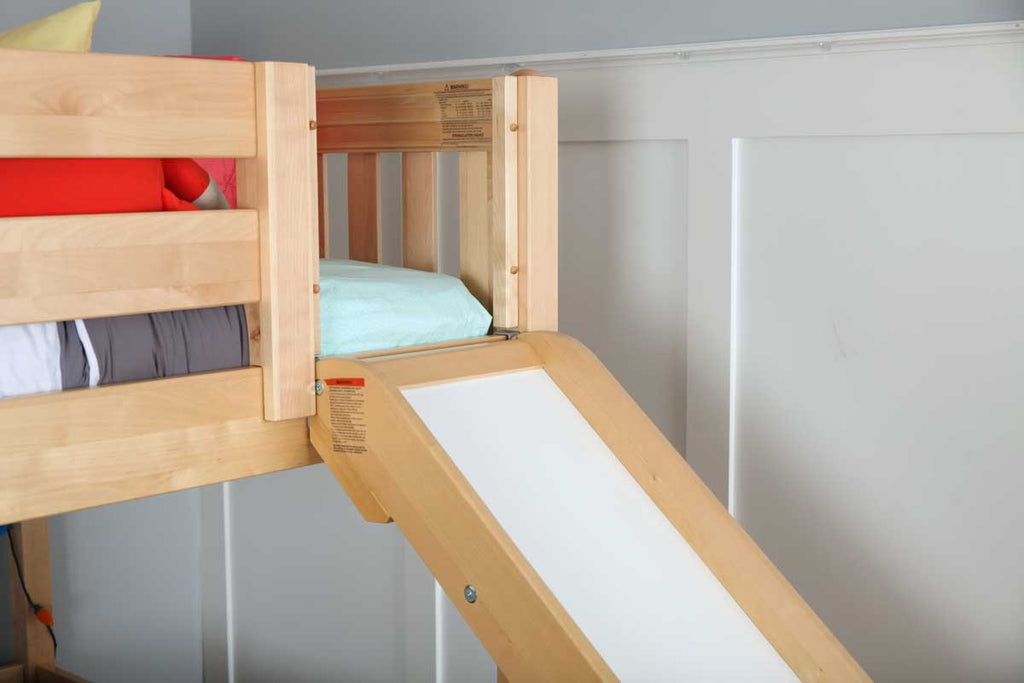 slide for mid loft bed