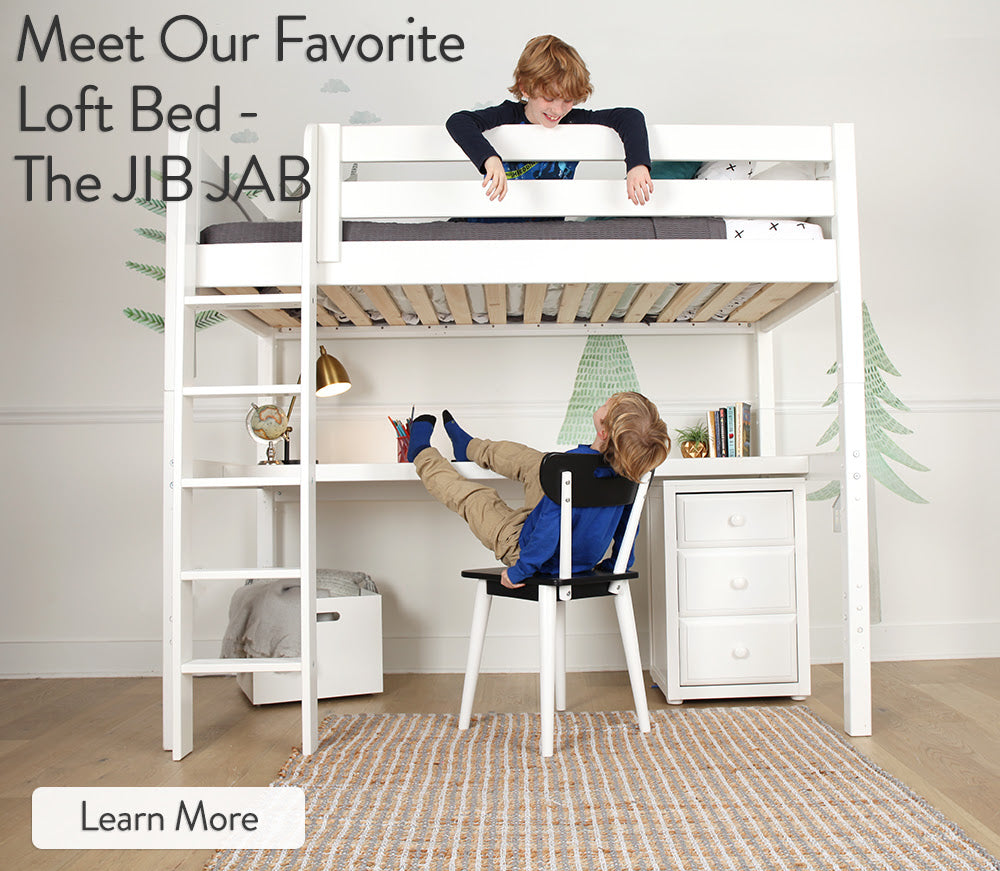 Our Favorite High Loft Bed With Ladder Meet The Jibjab Maxtrix Kids