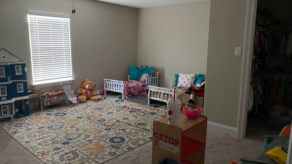 kerri paul twins room before