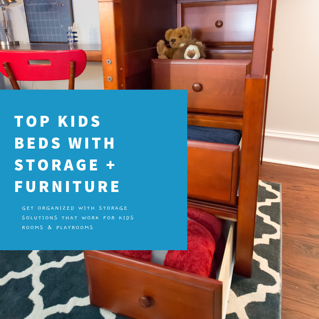 kids beds with storage and furniture