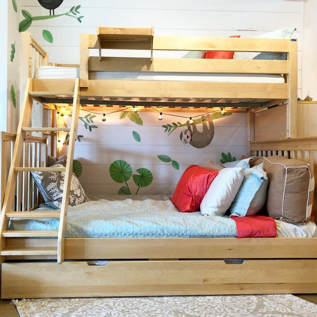 twin xl trundle drawer for bunk beds