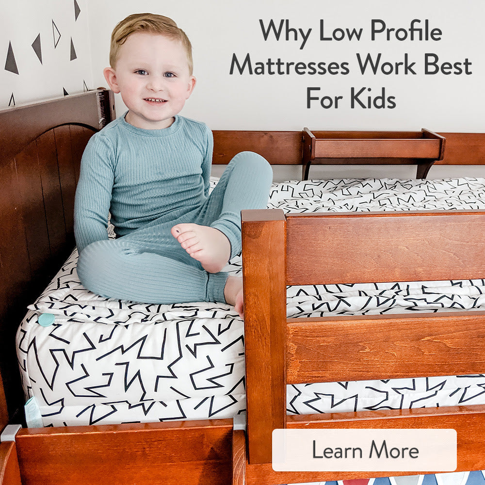 low profile mattresses for bunk beds and loft beds