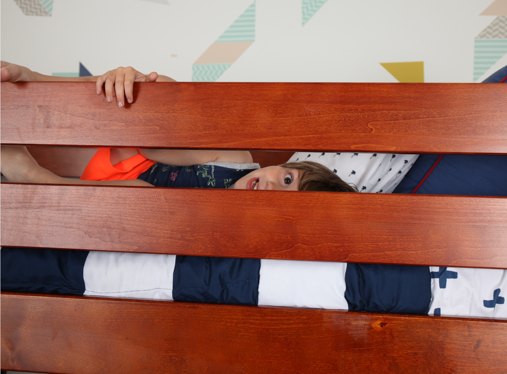 top guard rail safe bunk bed