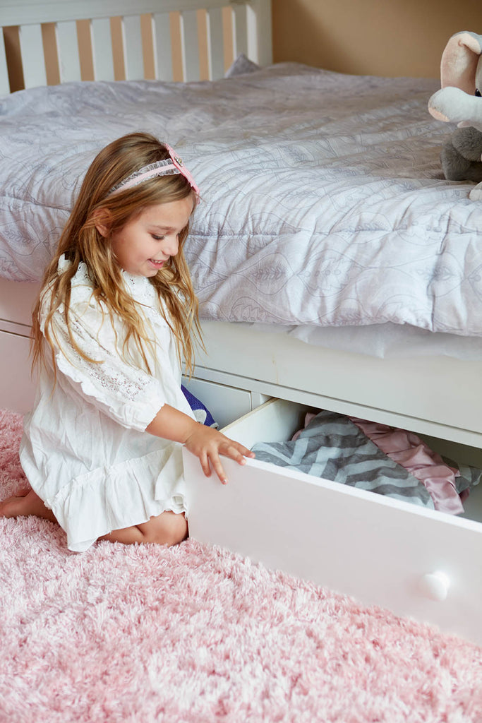 underbed storage drawers for bunk bed