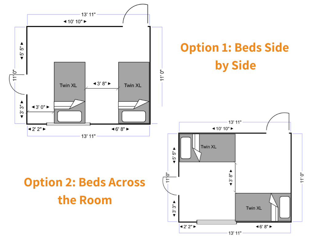 Design Ideas for two Toddler Beds in Shared Room