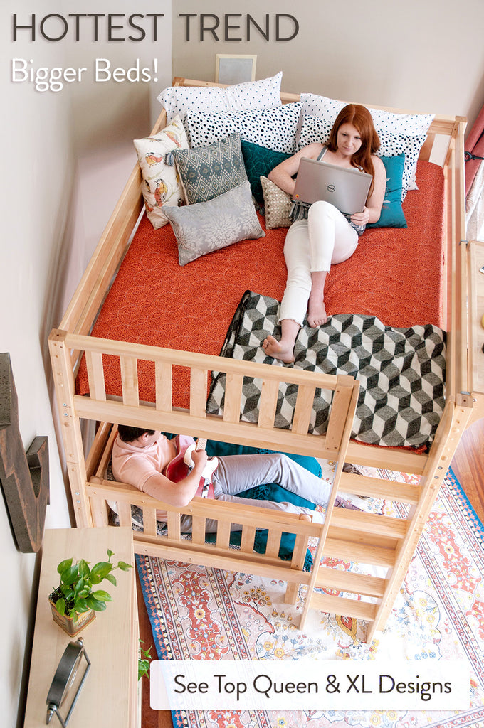 xl and queen bunk beds