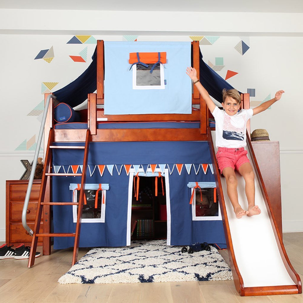 best loft bed with slide playhouse bed for kids