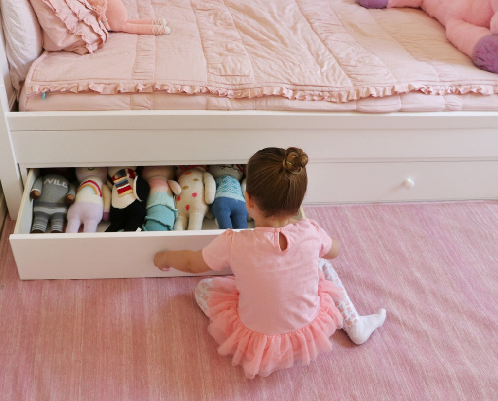 Twin Beds With Cool Underbed Storage Maxtrix Kids