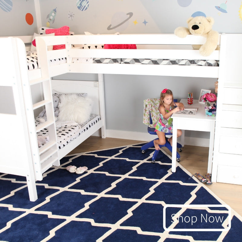 Shop Triple and Quad Corner Bunk Beds