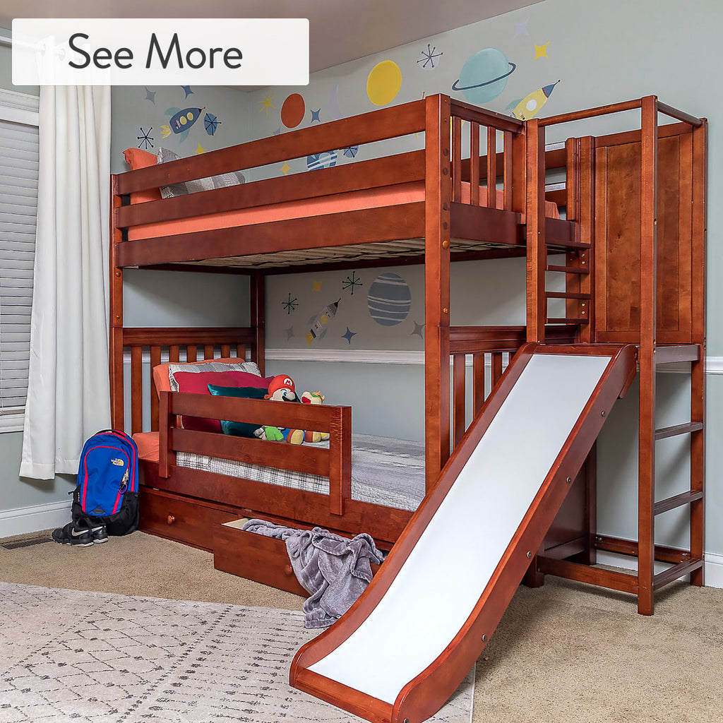 Under bed dresser for kids beds