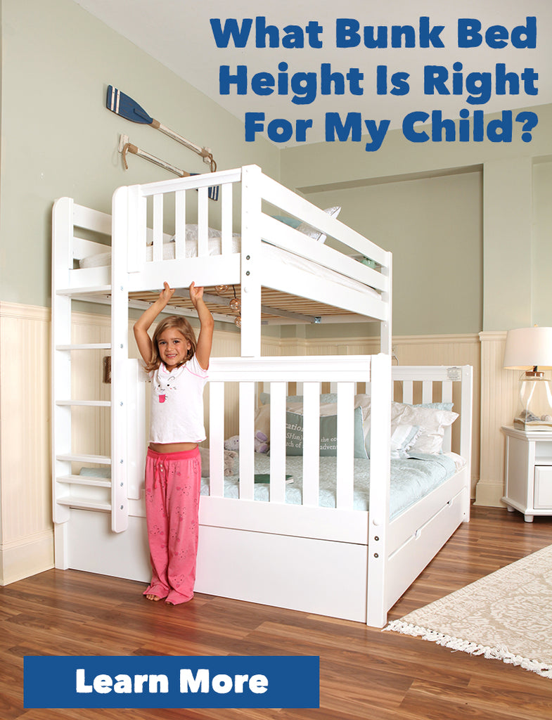 what size bunk bed is right for my child