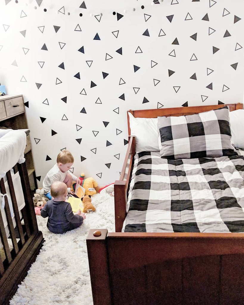 Yeah twin bed with guardrail for toddlers
