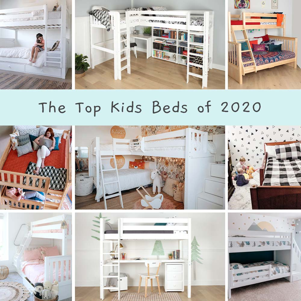 top kids beds of 2020 bunk beds loft beds slide  beds toddler beds