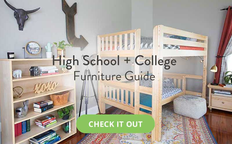 high school college teen room furniture for school