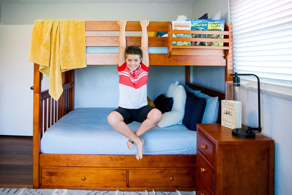 sturdy queen bunk beds