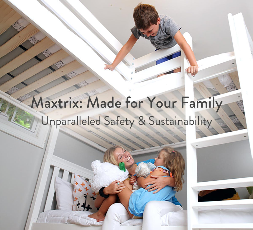 sustainable safe kids beds