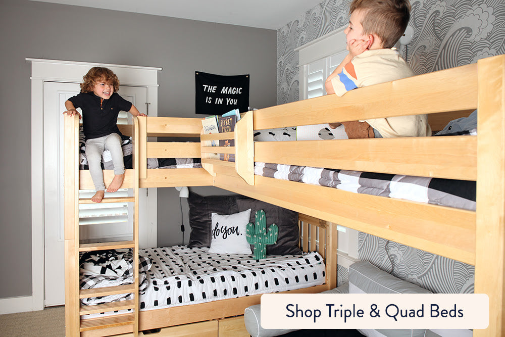 triple and quad bunk beds