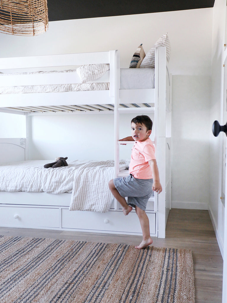 The Perfect Twin Over Twin White Bunk Beds Get It Maxtrix Kids