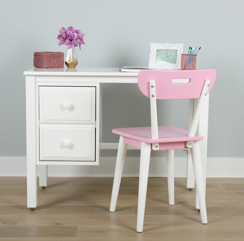 white desk for girls