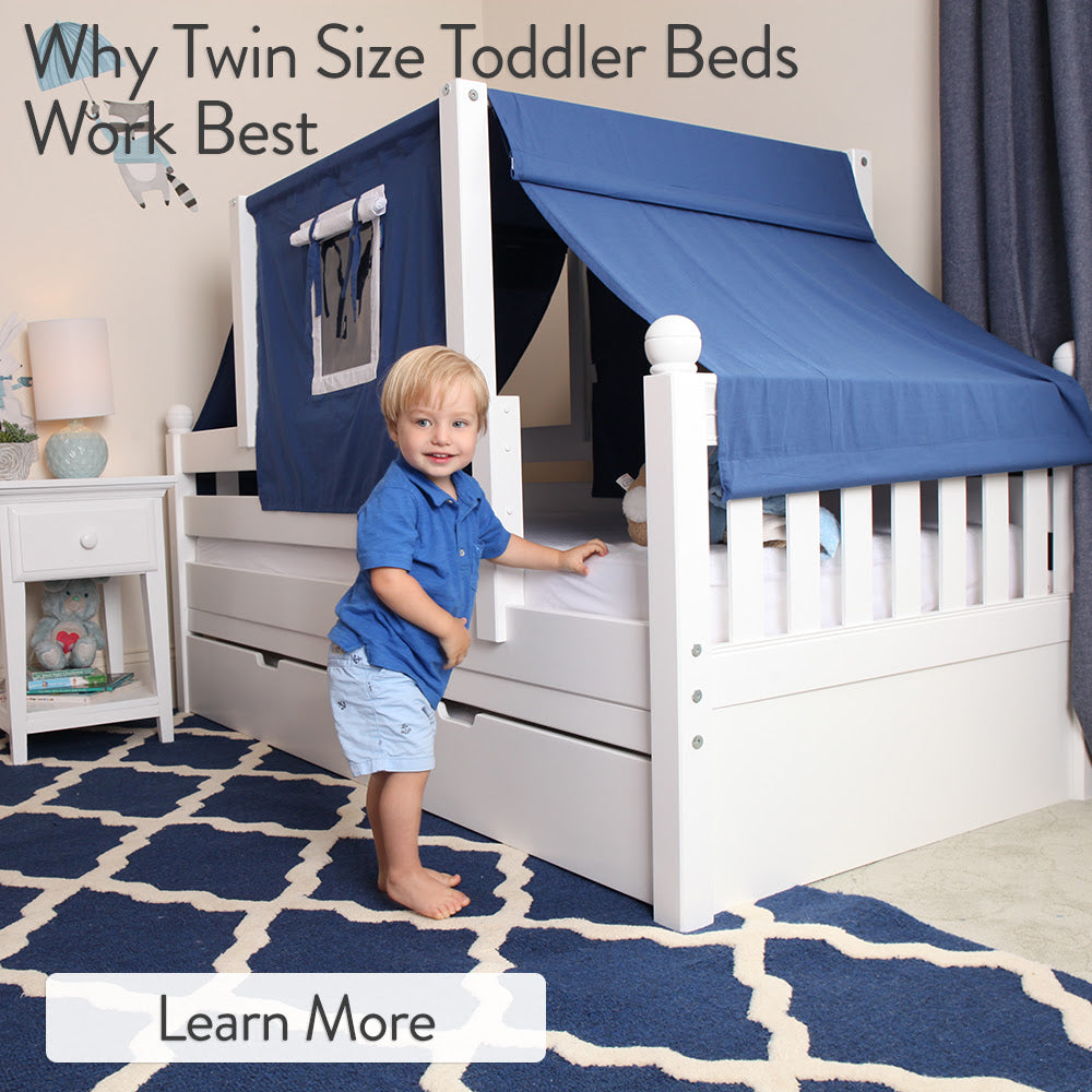 twin size toddler beds work
